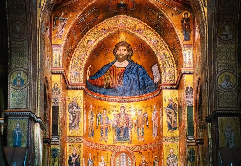 Visit beautifully decorated churches
