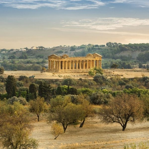 Temple of Concord, Valley of the Temples, Agrigento, Sicily